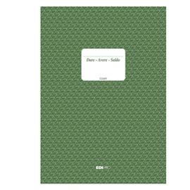 REGISTRO DARE-AVERE-SALDO     240X170MM, 100 FOGLI