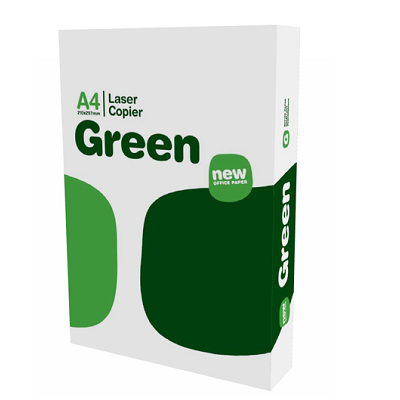 CARTA A4 LASER COPIER GREEN 500 FOGLI
